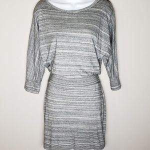 Final Price 🔥 Express gray stripped dress sz S